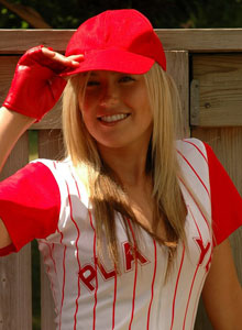 Sexy Baseball Player Strips Down - Picture 1