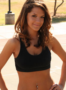 Brittanys Out In The Park Working Out - Picture 2