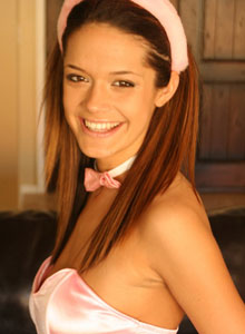 Brittany In A Sexy Lil Bunny Costume - Picture 1