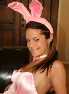 Brittany In A Sexy Lil Bunny Costume - Picture 8