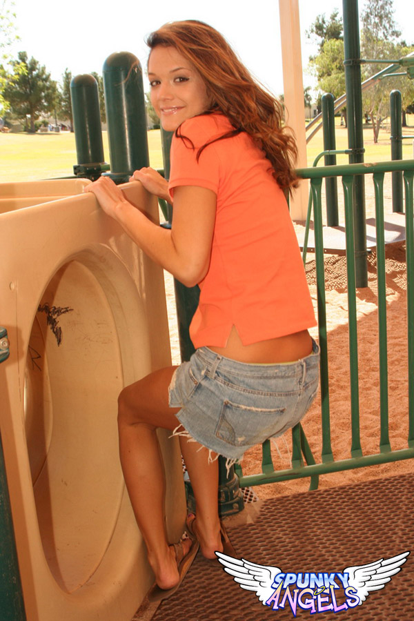 Brittanys Playing Around In A Playground - Picture 10