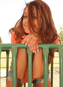 Brittanys Playing Around In A Playground - Picture 4