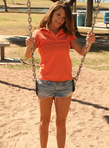 Brittanys Playing Around In A Playground - Picture 5