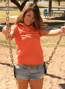 Brittanys Playing Around In A Playground - Picture 6