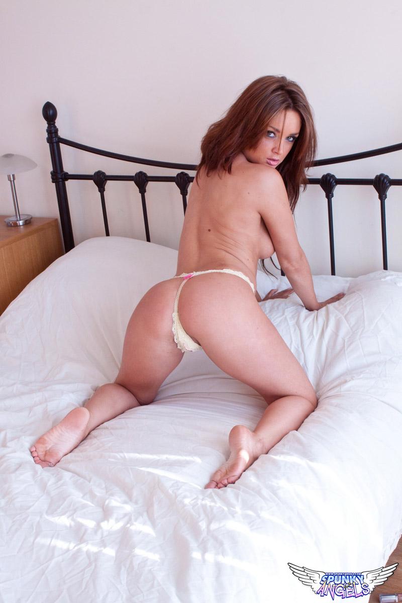 gym porn erection on ass