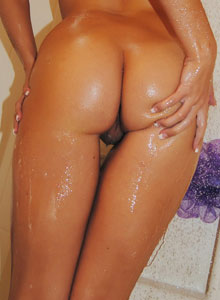 Watch As A Busty Teen Takes A Shower - Picture 6