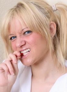 Cute Perky Blonde Teen Danielle Lynn Shows Perfect Tits Slutty School Girl Uniform - Picture 2