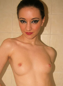 Honey Shows Off Her Tight Round Perfect Wet Ass In The Shower - Picture 5