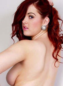 Busty British Teen Jaye Rose Shows Off Her Huge Juicy Tits - Picture 8