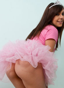 Kacie James Nude Little Princess Costume Fingers Wet Pussy - Picture 3
