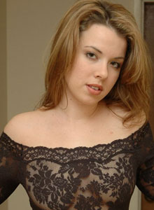 Kerie Hart Loves To Show Off Her Body In Black Lace - Picture 2