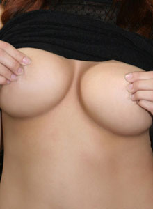 Busty Tease Mai Ly Loves To Play With Her Huge Juicy Tits - Picture 12