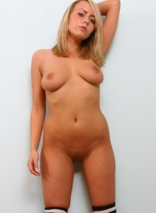 Busty Babe Millie Fenton Strips Naked For Us On Her Bed - Picture 11