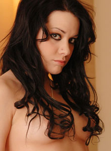 Serenas Perky Tits Are Visable Through Her Black Mesh Outfit - Picture 6